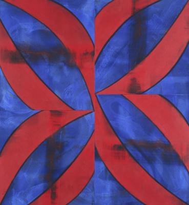 Charles Arnoldi,  Pretty Boy, 2007, Acrylic on canvas, 78 x 72 inches