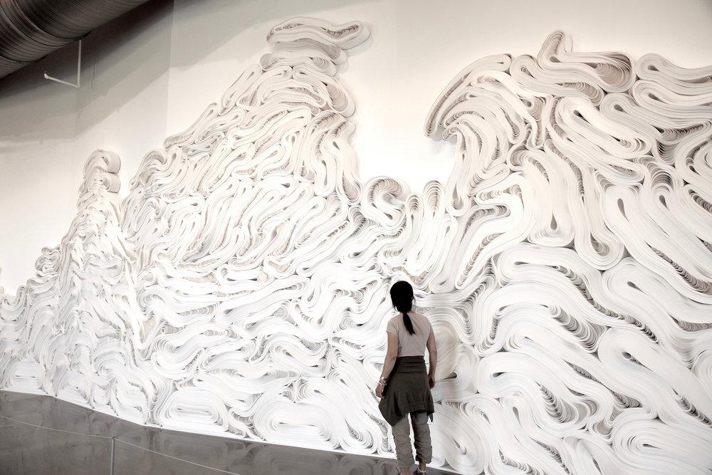 "Jae Ko,  Force of Nature Series ""FLOW"" , Detail"