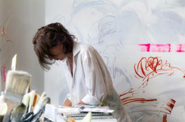 Jill Moser - studio