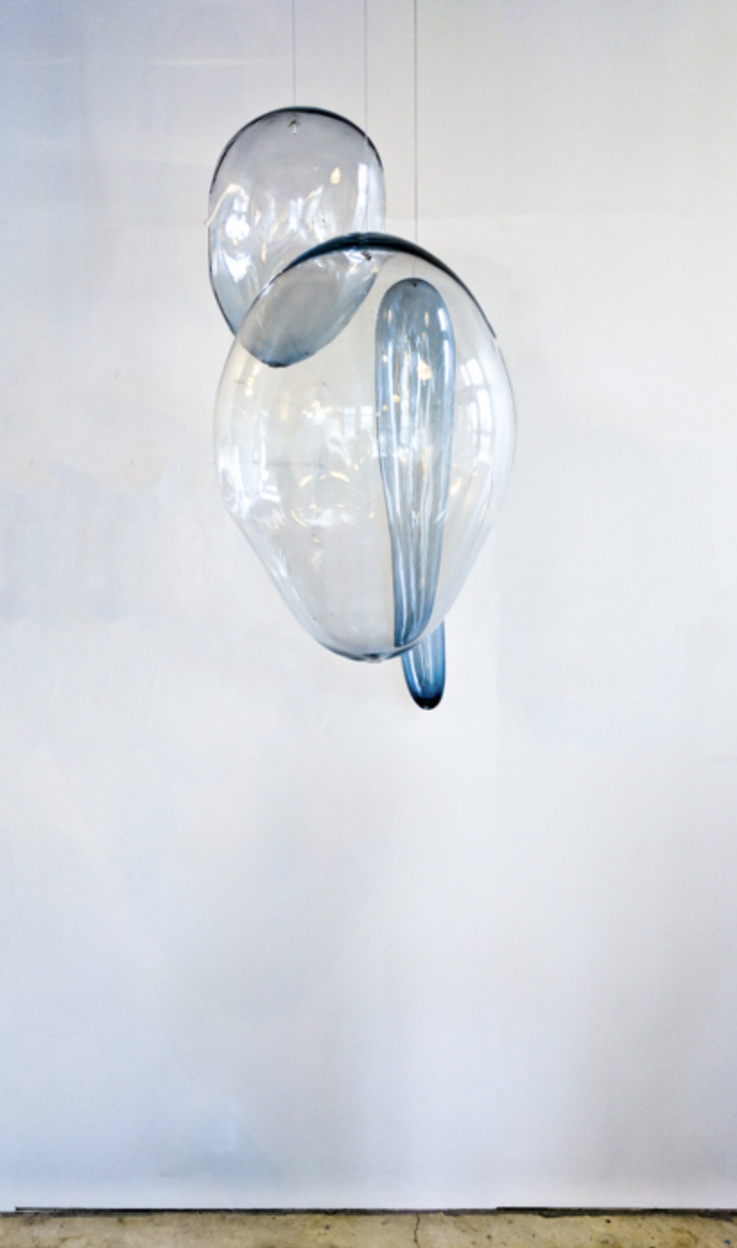 Ann Gardner,   Blown Glass D , 2017, Glass, 56 x 29 x 34 inches