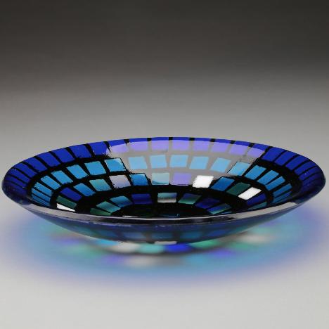 sept 26 mosaic bowl oil cotton