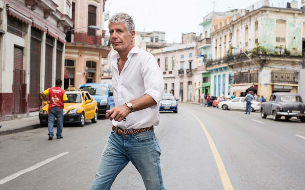 our final chance to see the world through his lens. RIP, anthony bourdain. thank you, i love you.