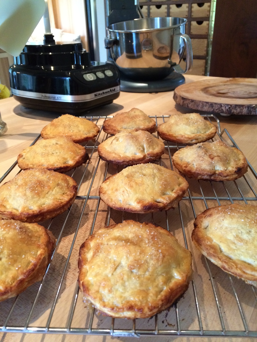 And, I can make some delicious apple hand pies too!