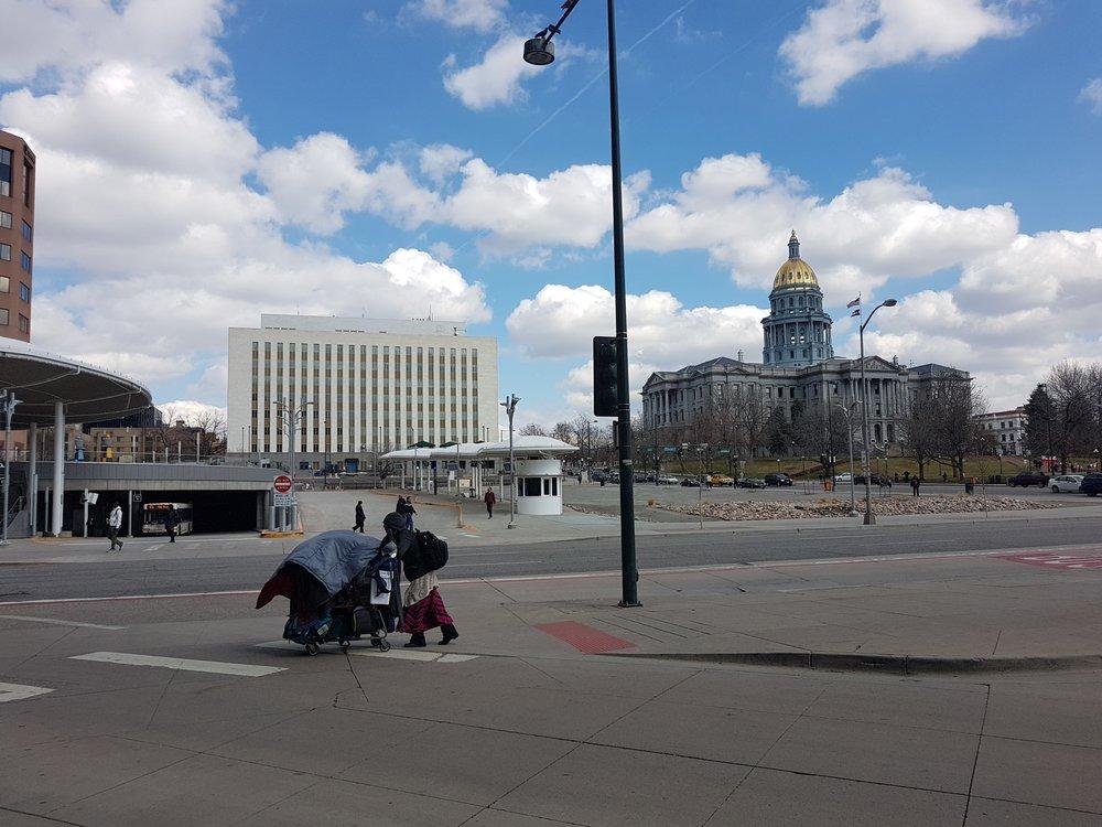 Homeless près du capitol