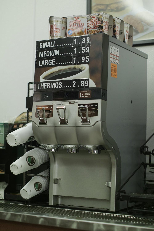 Je pense que Steve prendrait un thermos de café