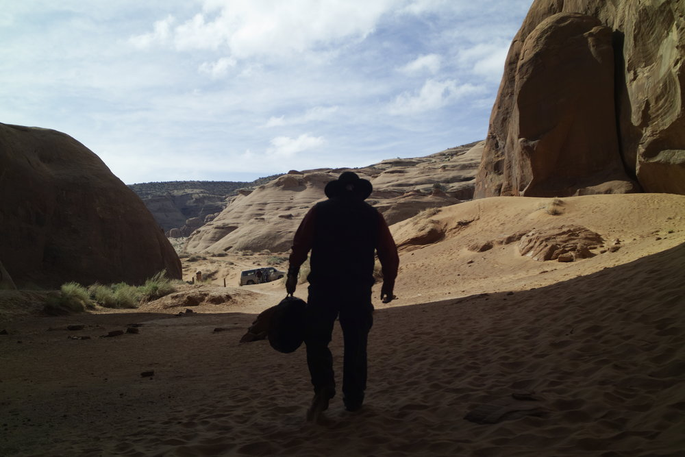 The poor lonesome Navajo