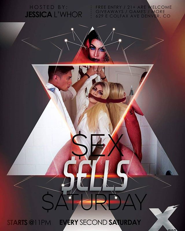 We all know what you want tonight, so come and check out these sexy performers during Sex Sells Saturday with Jessica L'Whor and release all your inhibitions on the dance floor.
