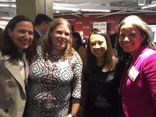 Fannie Mae Associate GC Mai Pham Robertson here with Alicia Korten, CEO of The Culture Company, and Trending 40 partners and great friends Erin Toomey and Colleen Yushchak from Navigant.