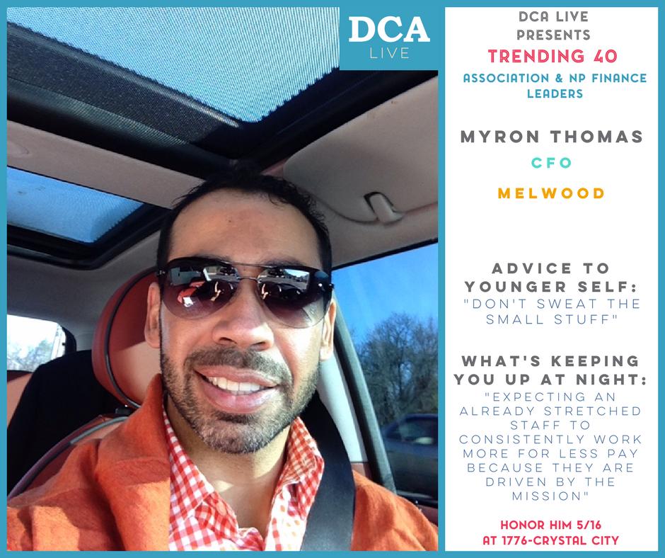 Myron Thomas, CFO of Melwood