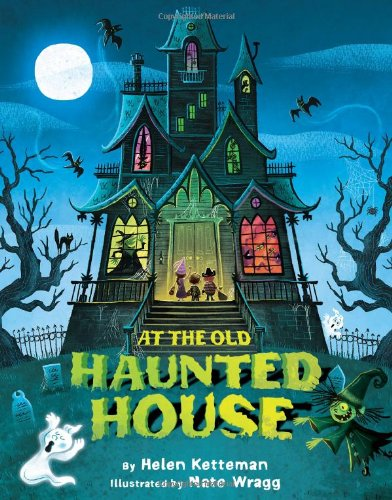 At the old haunted house
