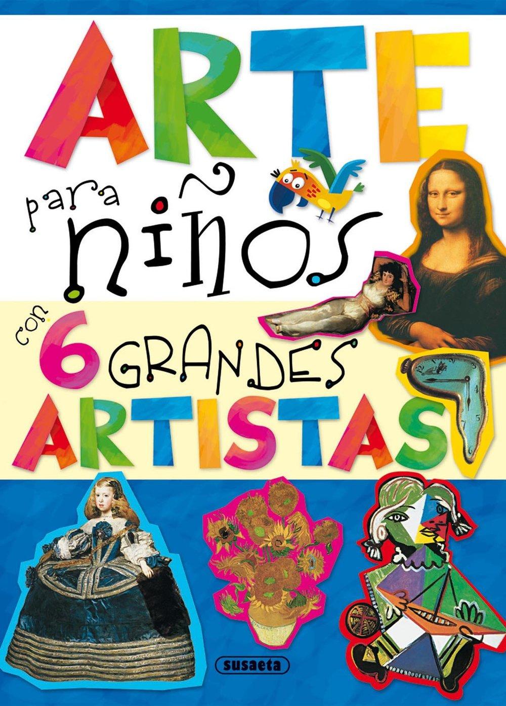 Arte para niños con 6 grandes artistas