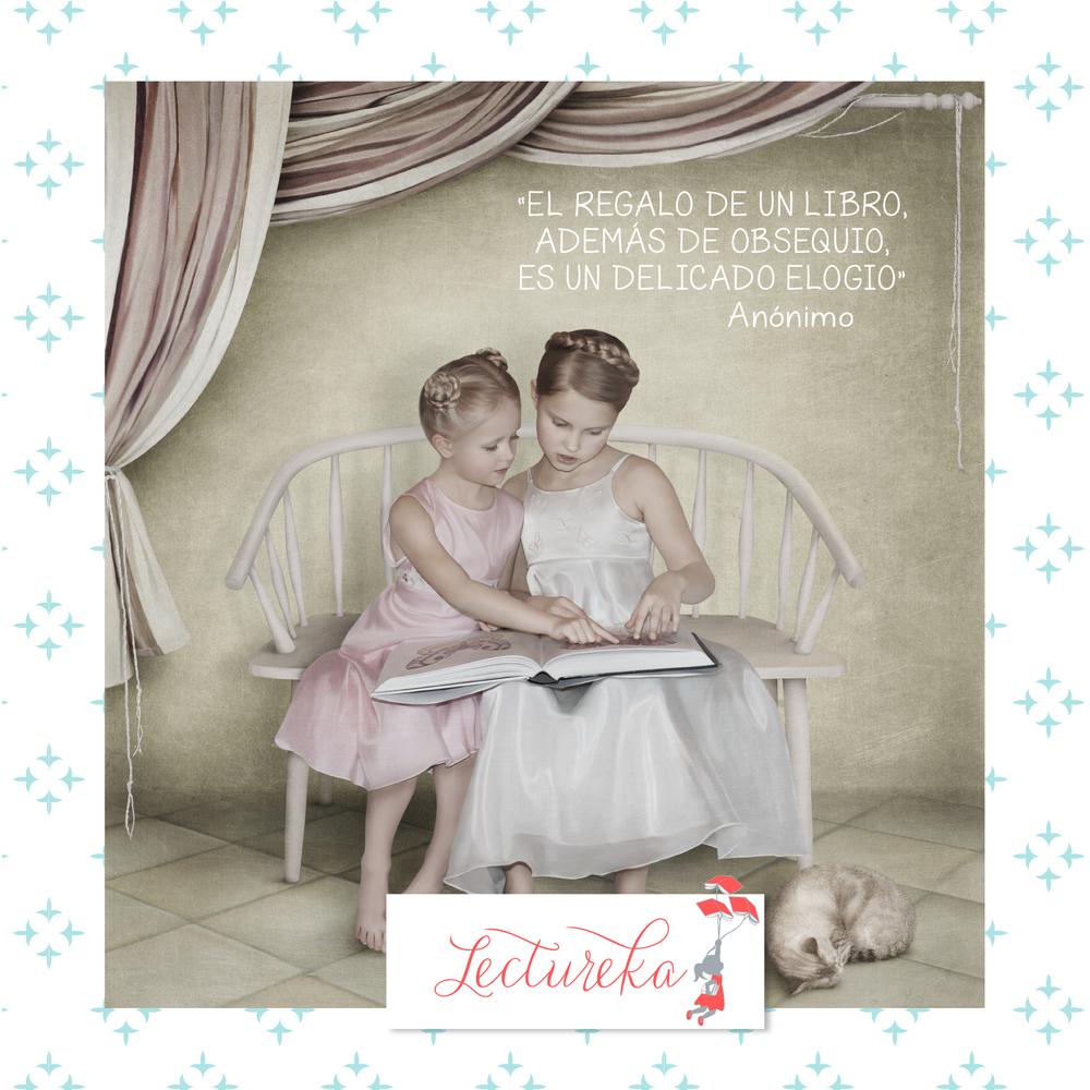 """Frases Célebres: """"El regalo de un libro, además de un obsequio, es un delicado elogio"""""""
