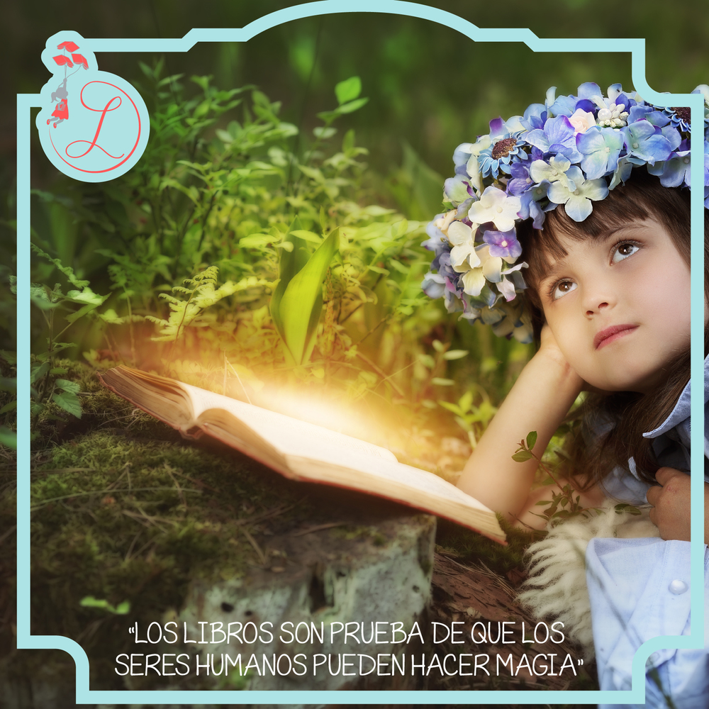 """Frases Célebres: """"Los libros son prueba de que los seres humanos pueden hacer magia"""""""