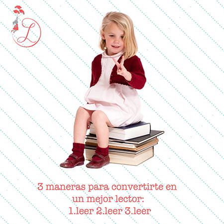 "Frases Célebres: ""3 maneras para convertirte en un mejor lector 1.leer 2.leer 3.leer"""