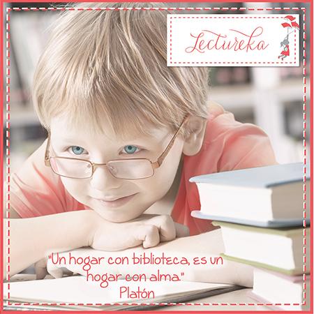 "Frases Célebres: ""Un hogar con biblioteca es un hogar con alma"" Platón"