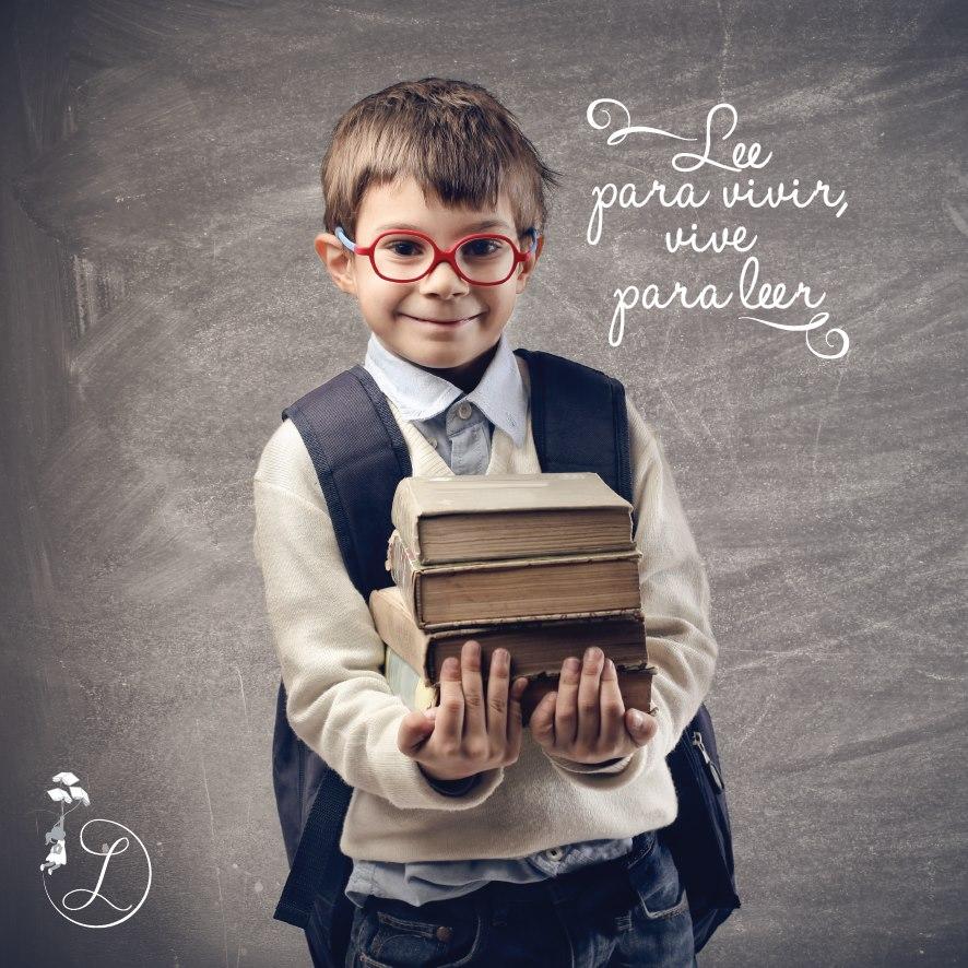 Lee para vivir, vive para leer