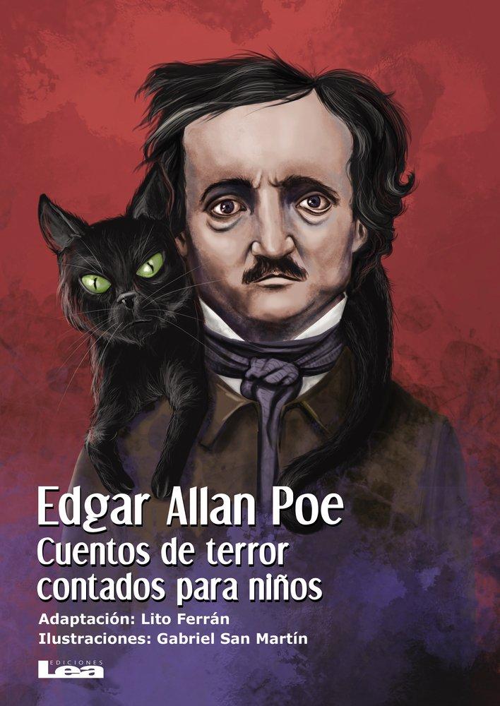 Cuentos de Terror para Niños  Edgar Allan Poe  Edgar Allan Poe fue un escritor norteamericano que esta considerado, con justicia, como el maestro de los cuentos de terror. En este libro te presentamos siete de sus relatos mas espeluznantes: El Gato Negro, El Corazón delator y la Caja de pino.