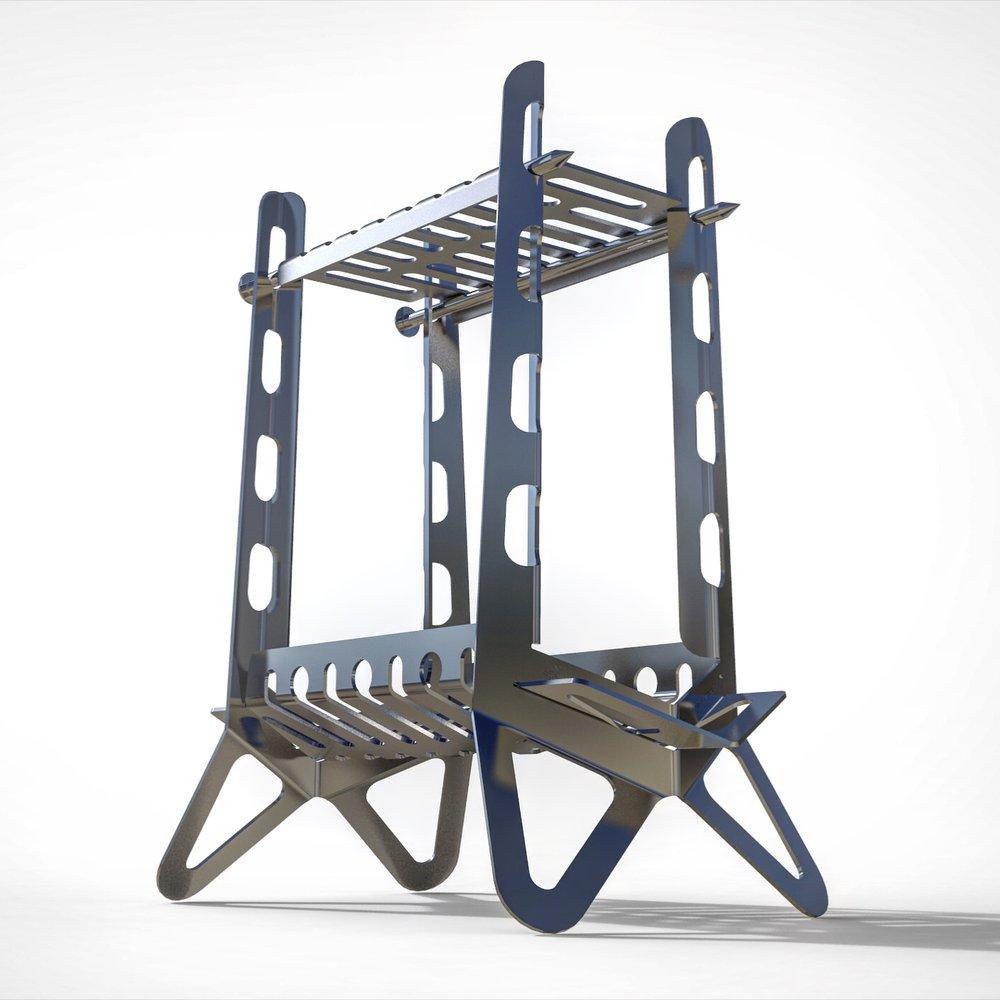 FIREWAALL + (Plus) - 167,00 CAD | Modular cooking tool + Bonefire stand