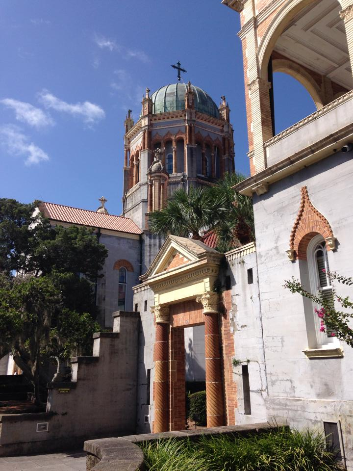 Memorial Presbyterian Church, built by Henry Flagler for his northern elite religionistas.