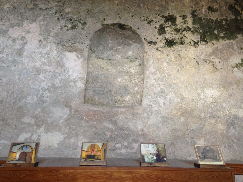 The altar of St. Mark's Chapel in Castillo San Marcos, St. Augustine, FL.