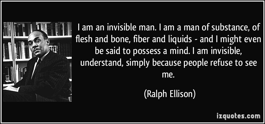racism in invisible man