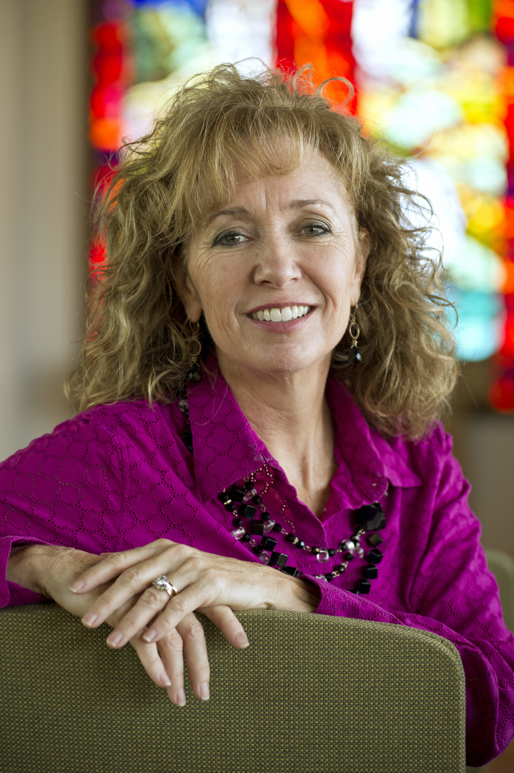 "Leann Luchinger reflects that, "" We Christians have to reclaim the Christian conversation, the Christian words, the expressions of our faith."""