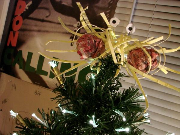 Menorah Christmas Tree Topper