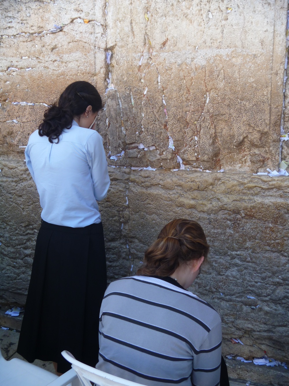 "In Israel, debates are being waged concerning women's prayer at the ""Western Wall."" PHOTO: Elizabeth Chitwood"