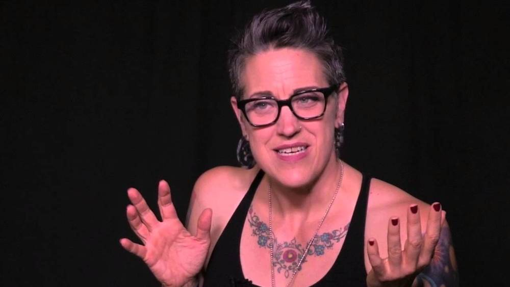 'Pastrix' Nadia Bolz-Weber offers up a vision of the Christian community that is marred, scarred, and full of murderous mercy. (Photo: YouTube capture)