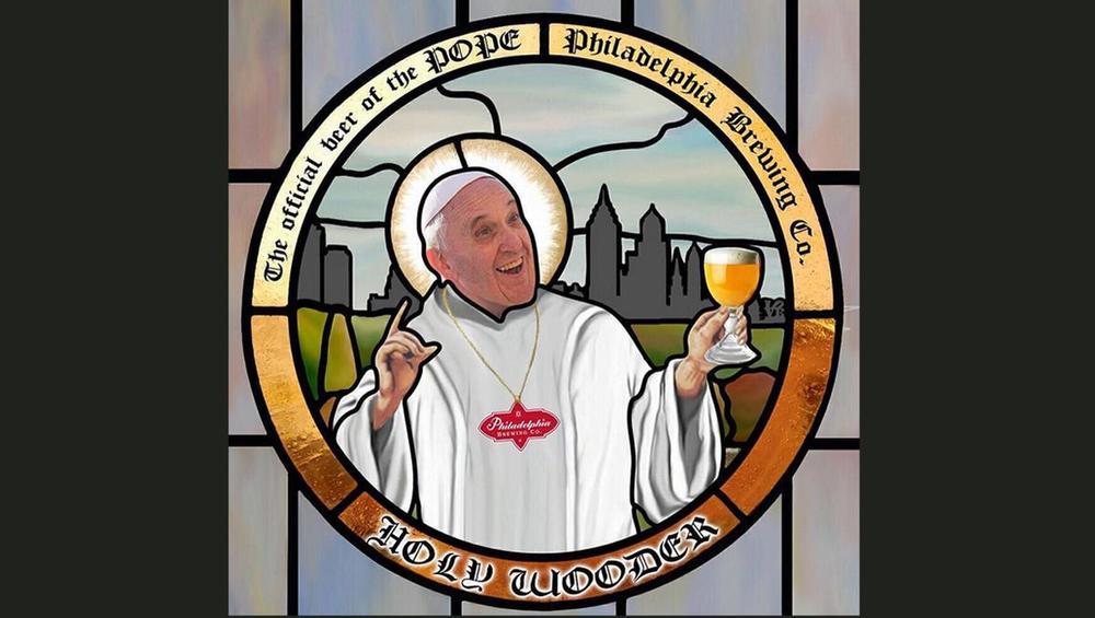 Pope Francis Beer