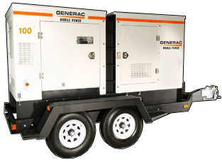 Towable generators are great for businesses with multiple locations, but are also ideal for powering concerts or sporting events!