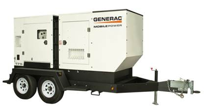 generac mobile towable backup generator for businesses with multiple locations