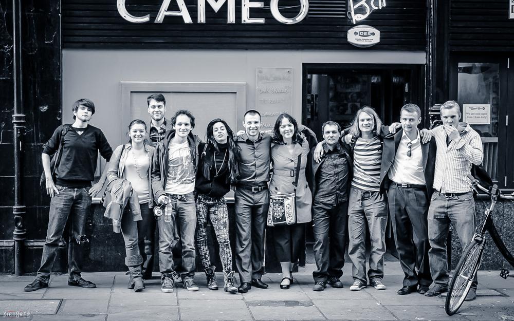 Before Screening atCameo Cinema -Edinburgh2012