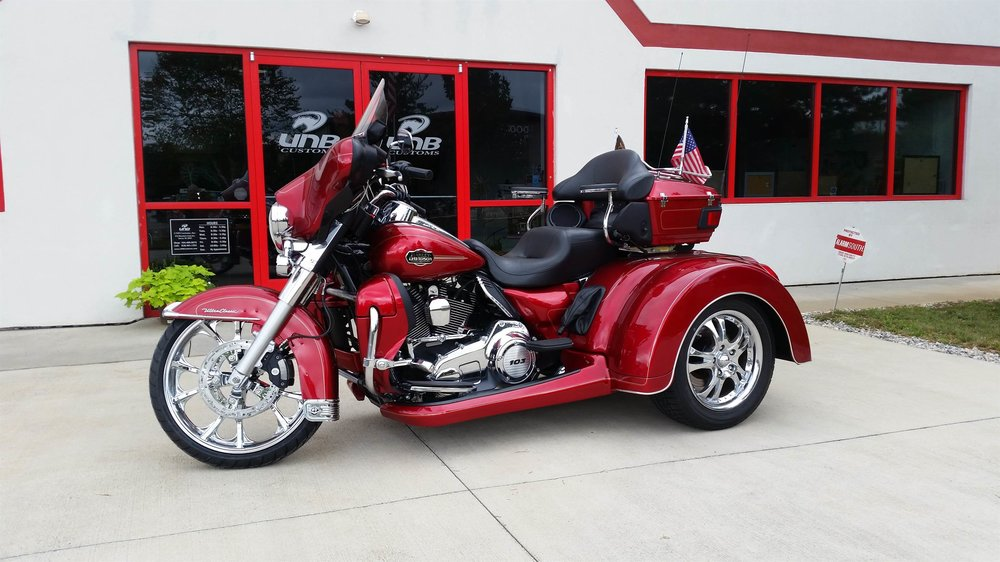 2013 Ultra Classic Roadsmith trike red