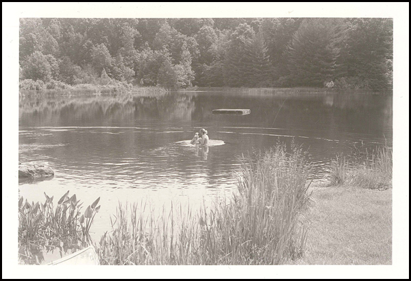 Gala baptized me in a pond on a friend's property in Bloomfield, Indiana.