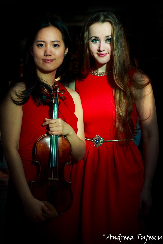 Pianist OXANA SHEVCHENKO & Violinist JOO YEON SIR