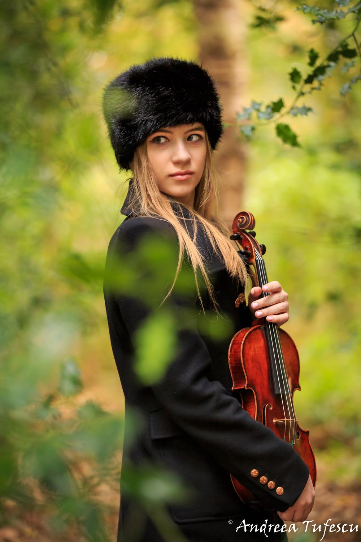 Violinist LIZA TYUN