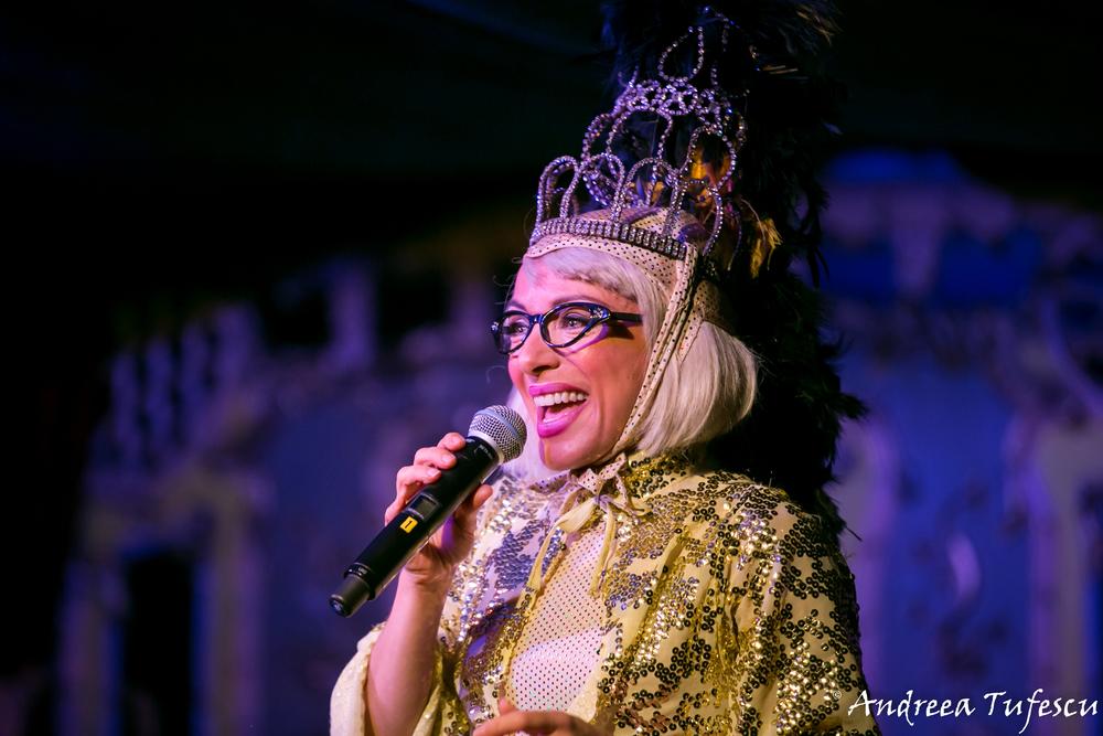 Canary Wharf Spiegeltent Cabaret (September 2015)