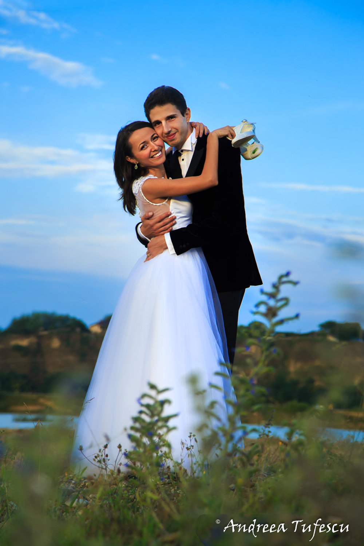 Wedding Photography by Andreea Tufescu - A & E Trash the Dress -