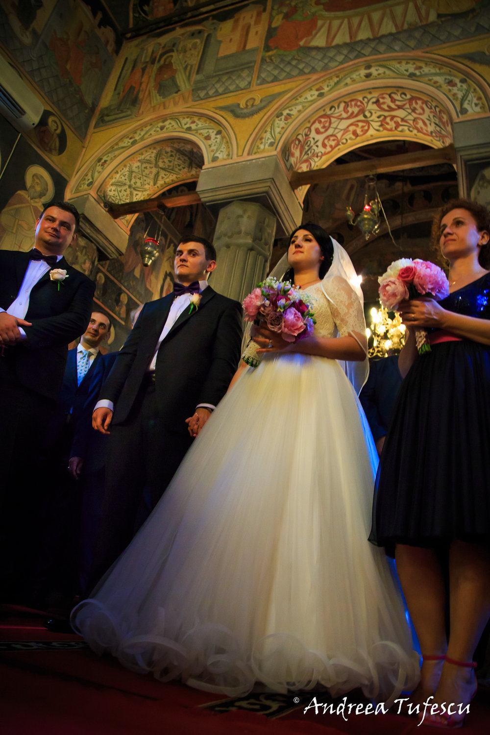 Wedding and Engagement Photography by Andreea Tufescu - S & C Wedding - Traditional Church Ceremony and Reception
