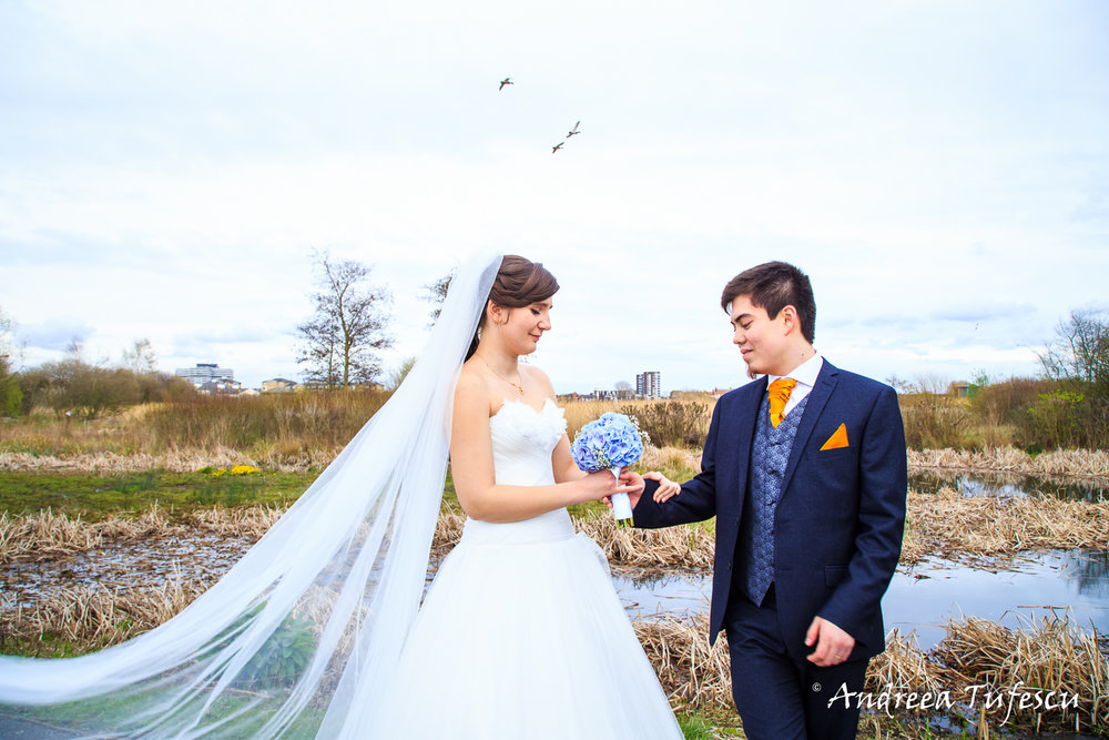 Wedding Photography by Andreea Tufescu - A & N Alternative Wedding - Wetland Centre wedding West London Barnes