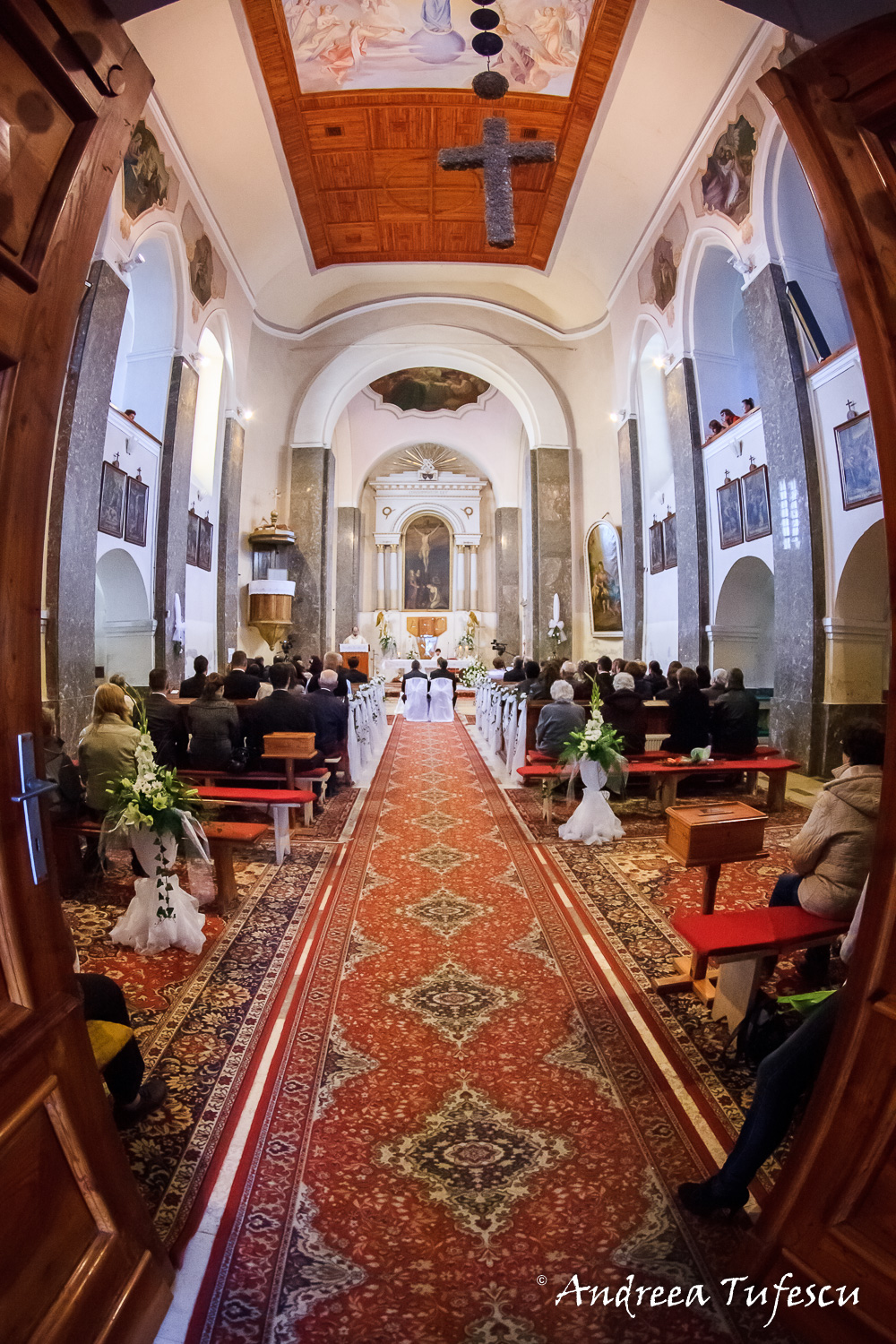 Wedding and Engagement Photography by Andreea Tufescu - Z & A Wedding - Traditional Church Ceremony and Reception