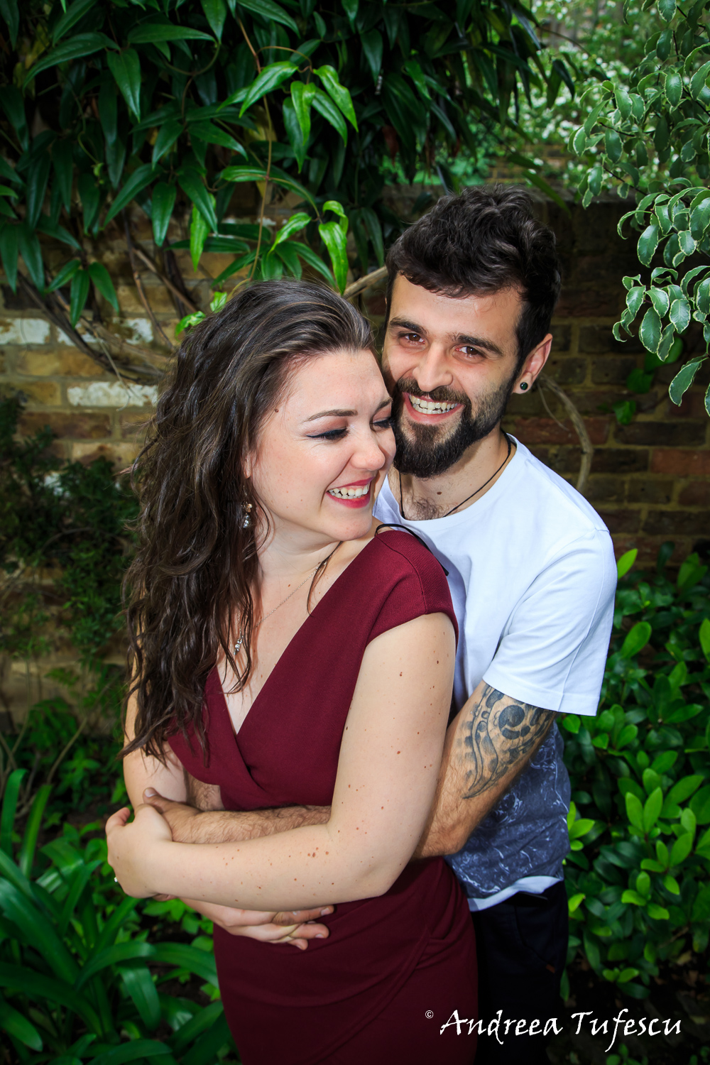 Wedding and Engagement Photography by Andreea Tufescu - L & D Engagement - PreWedding Photoshoot West London Chiswick