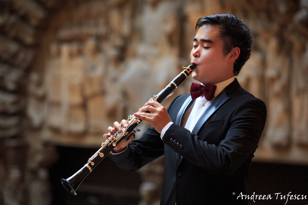 Clarinetist Junnan Sun - portraits and headshots by London photographer Andreea Tufescu