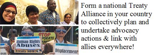 Form a National Treaty Alliance