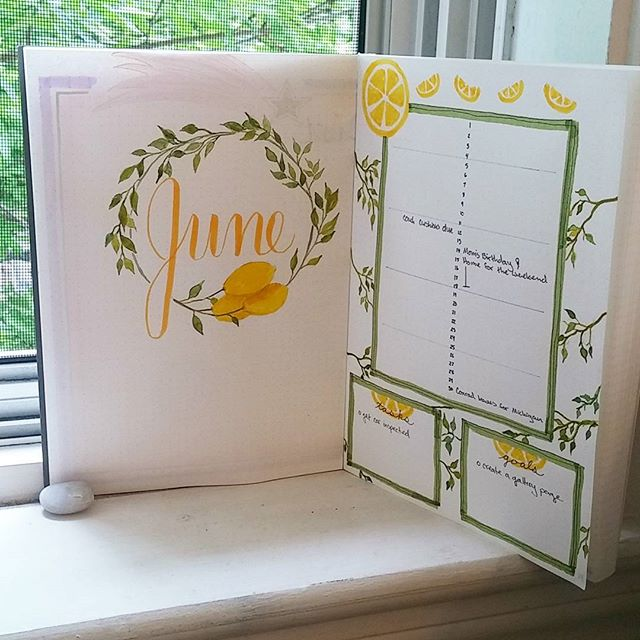 I've jumped aboard the #bulletjournal train! This month's theme is lemons. 🍋 . . . #bujo #bulletjournalcommunity #planwithme #journaling #planneraddict #bulletjournalcollection #plannercommunity #bujoinspire #monthlyspread #bulletjournaling #artjournal #smpbulletjournal2017