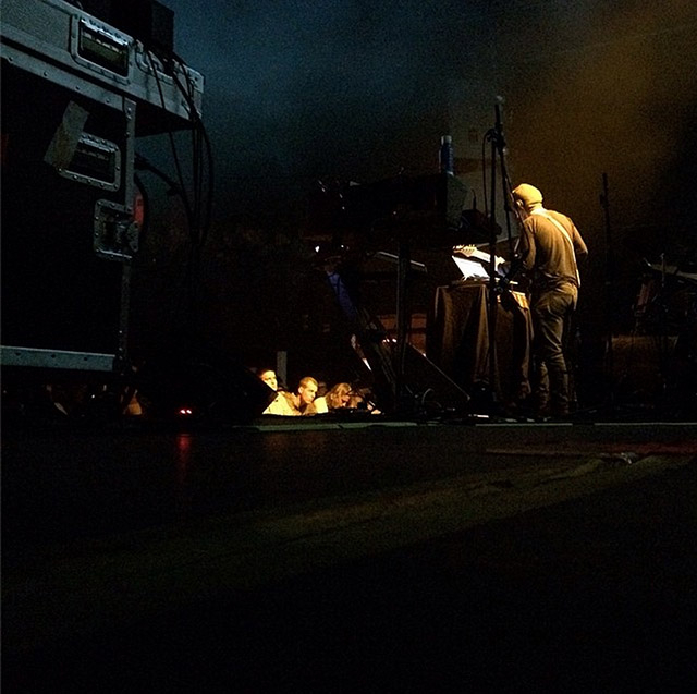 Photo by Zac Brown, bassist and guitarist of Tycho and very awesome man. @zryder on instagram