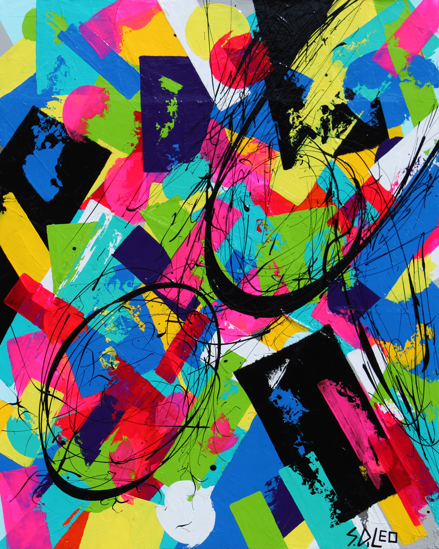 """humanity 24"""" x 30"""" acrylics on canvas SOLD"""
