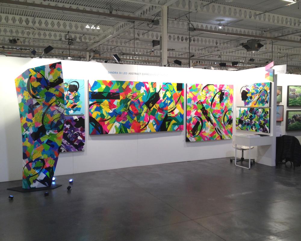 Sandra Di Leo Artist Project 2014