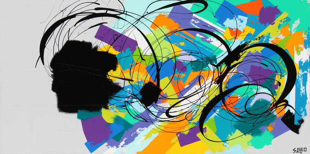 """forever young 48"""" x 24"""" acrylic on canvas SOLD"""
